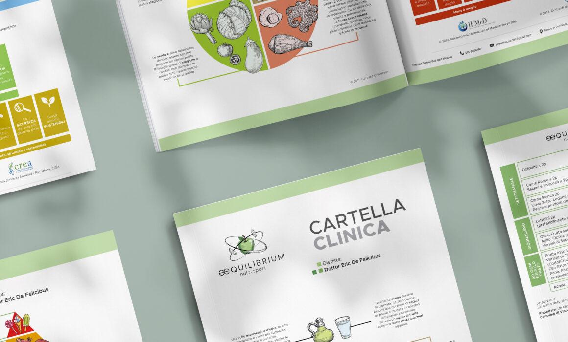 albedo brand identity aequilibrium nutrisport cartella